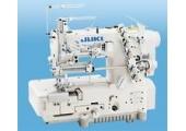 2-игольные швейные машины челночного стежка с плоской платформой