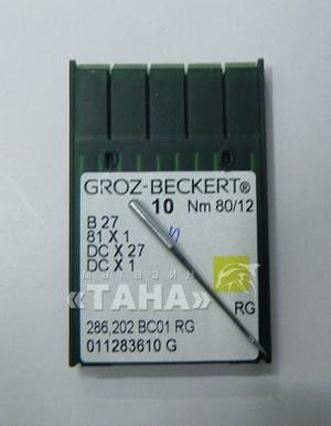 Швейная игла Groz-Beckert DC27/SES