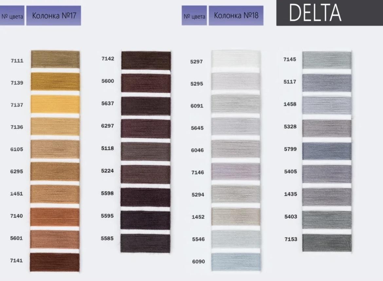 DELTA - армированная нить из полиэстера
