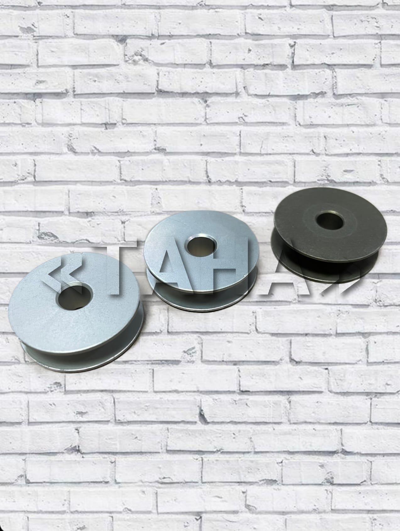 Шпулька алюминиевая к петельным швейным машинам JUKI, BROTHER